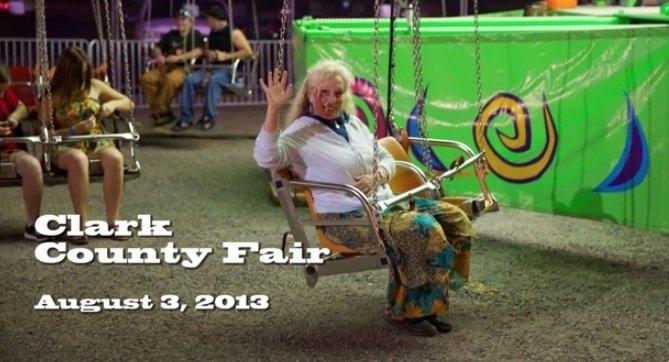 Clark County Fair Night Rides