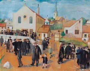 Jewish Synagogue in Sárospatak Artist: Elek Gyori