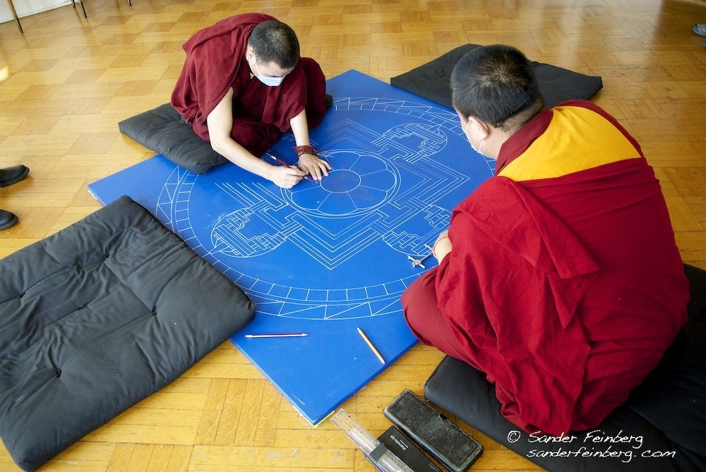 Drepung Gomang Monks Sand Mandala