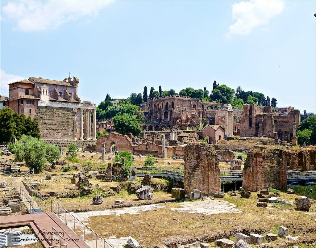 Forum-Colosseum – Rome