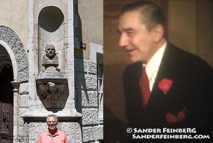 Bela Lugosi Statue