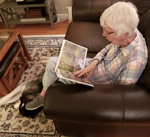 Focused reader of Pacific NW Visions