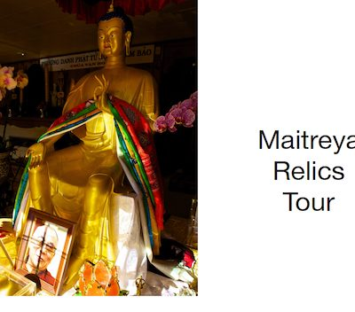 Sander Feinberg Maitreya Relics Mini Book
