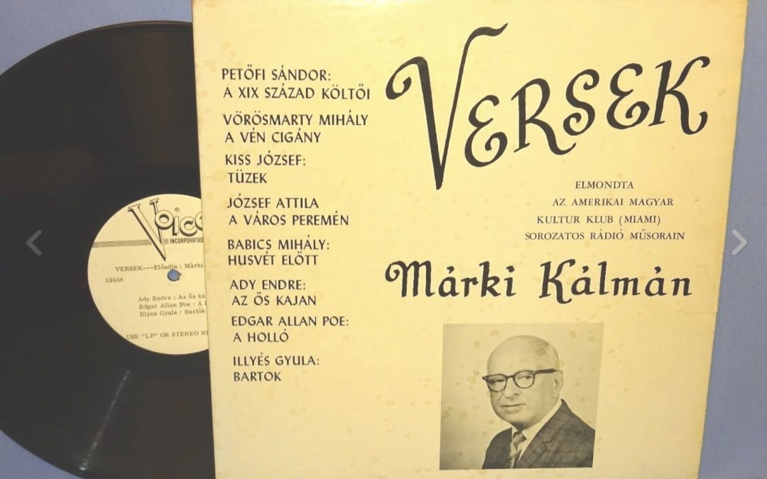 Versek – Kalman Marki Poetry Readings