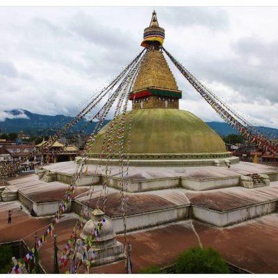 Boudenath Stupa Magnet