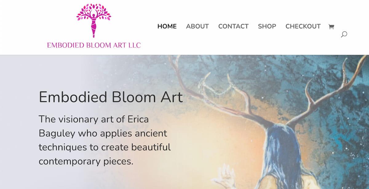 Embodied Bloom Art