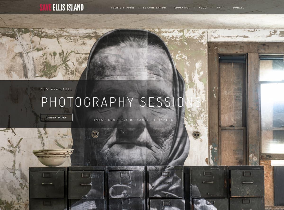 Save Ellis Island © Sander Feinberg